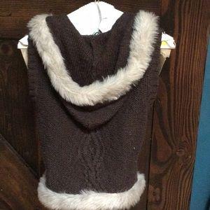 Old Navy hoodie sweater vest